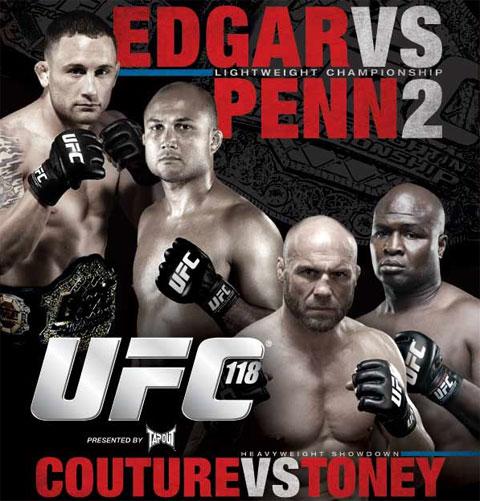 Nason's Coverage of UFC 118 in Boston