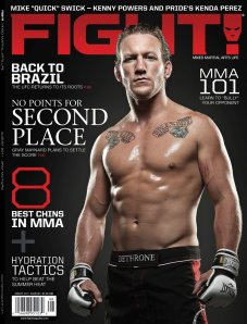Josh Nason - FIGHT! Magazine August 2011