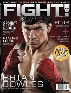FIGHT Magazine - September 2011 - Josh Nason
