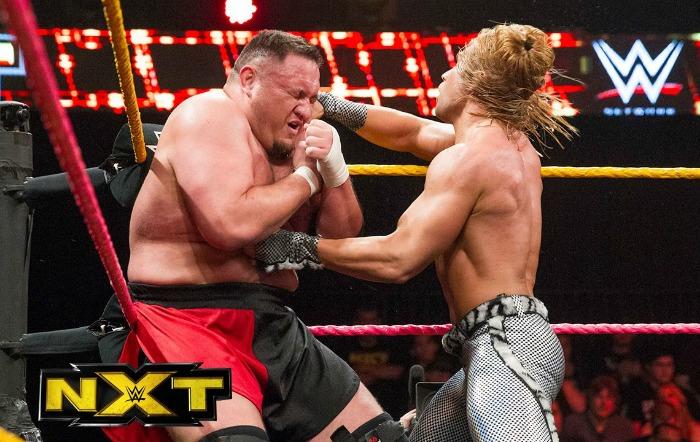 Samoa Joe vs. Tyler Breeze